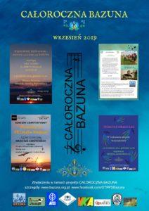Całoroczna Bazuna — wrzesień 2019_plakaty